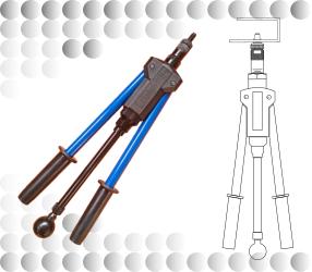 rivnut tool - nut riveter - rivnut gun - Dafra UK Ltd